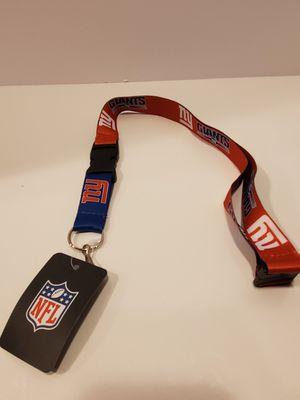 New York Giants NFL Breakaway Lanyard w/ Safety Clip BUY 2 GET 1 FREE! for Sale in Whittier, CA
