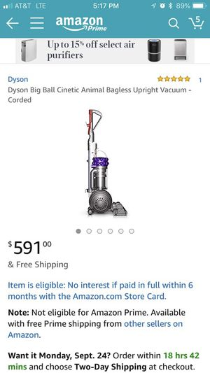 Dyson vacuum for Sale in Peoria, IL