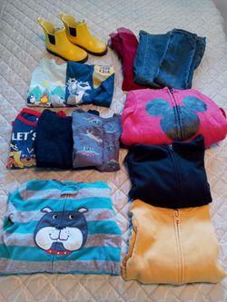 5t Boy's clothes & 11c Rainboots for Sale in Berkeley,  CA