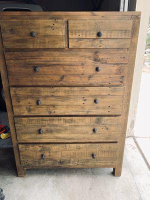 Like new farm house dresser! Beautiful wood design! for Sale in Henderson, NV