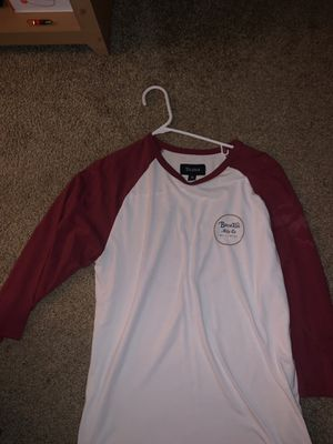 Brixton Men's baseball tee Medium for Sale in Washougal, WA