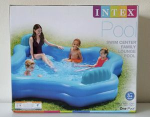 Intex Relax 2-Seat swim Center Family kids Inflatable Pool. Above Ground Pool for Sale in Tampa, FL