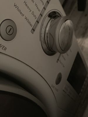 Free washing machine- work but leak water need repair. for Sale in Fountain Valley, CA