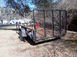 7.5 ×12 landscape trailer heavy duty for Sale in Methuen, MA