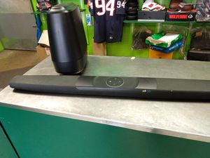 Polk audio Alexa soundbar and subwoofer with connections for Sale in Houston, TX