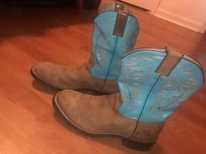Double h western boots for Sale in Silver Spring, MD