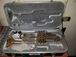 Used, SIMBA TR-205 TRUMPET WITH CASE for Sale