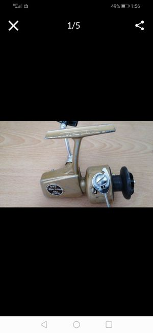 BERKLEY 445 SPINNING FISHING REEL VINTAGE old school antique bass inshore bait casting saltwater freshwater trout bluegill man cave for Sale in Fullerton, CA
