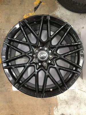 "Brand New 18"" Inch Diablo D17 18X8 All Gloss Black Wheels Rims Rines 5X110 5X4.33 5X114.3 5X4.5 for Sale in Austin, TX"