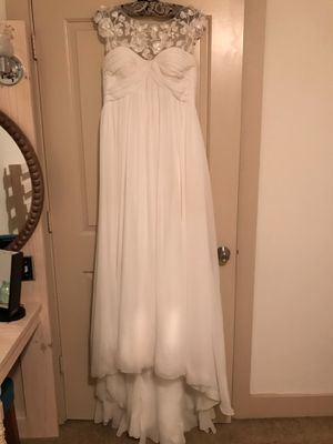 Wedding Dress- White for Sale in Pflugerville, TX