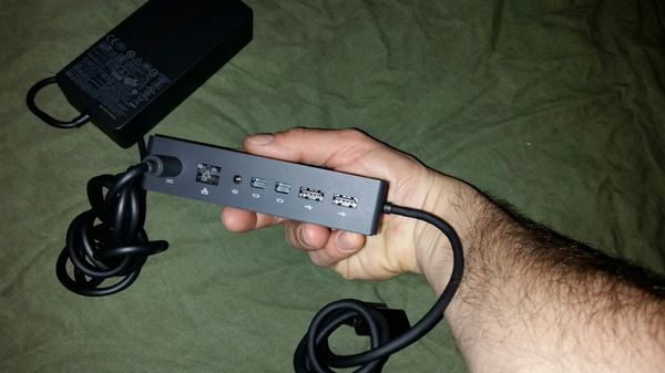 Microsoft Surface Dock with Charger