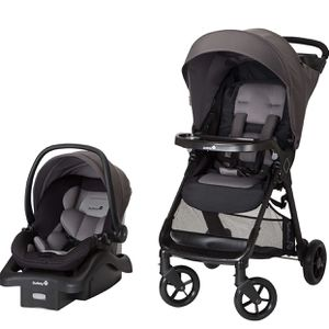 Safety 1st Smooth Ride Travel System with OnBoard 35 LT Infant Car Seat, Monument 2 for Sale in Sloan, NV