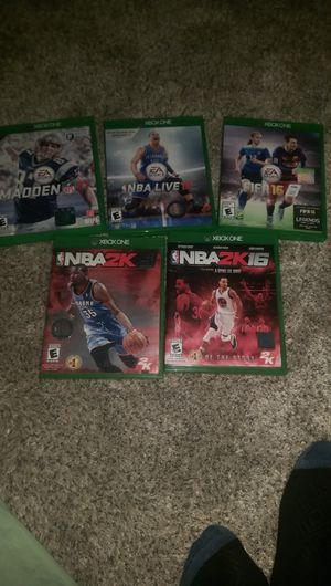XBox One Sports Video Game Bundle for Sale in Durham, NC