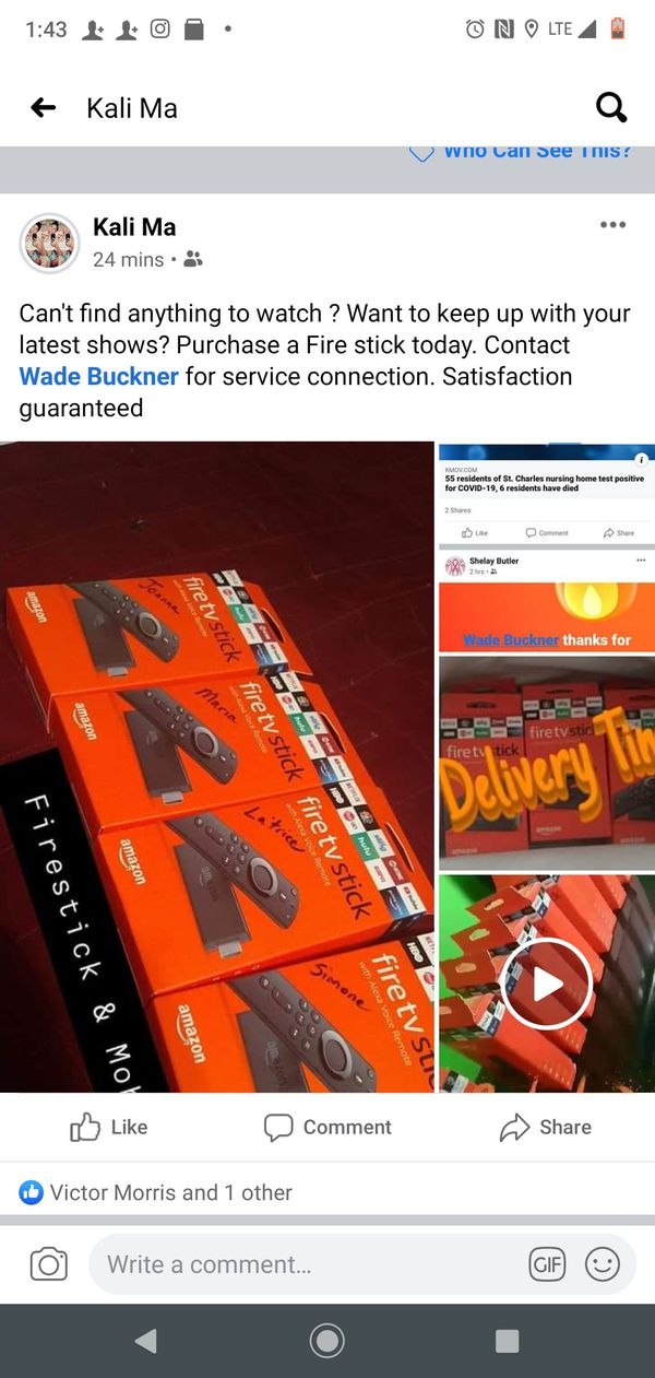 Installations For Amazon Firesticks