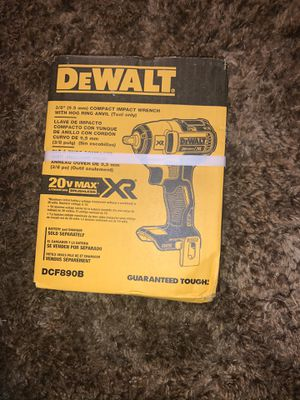 Dewalt brushless impact wrench for Sale in Bethany, OK