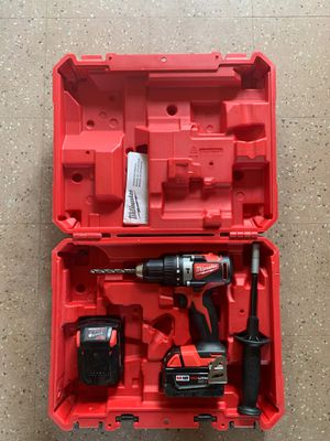 Milwaukee Hammer Drill/Driver Set. M18 1/2in Kit. for Sale in Saginaw, MI