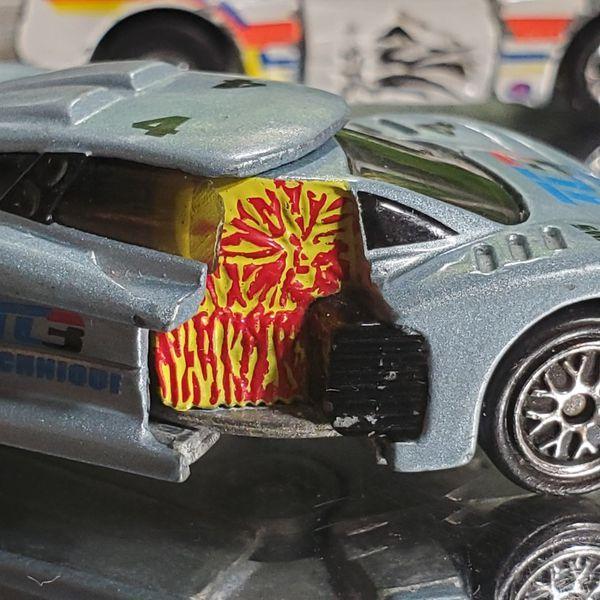 Hotwheels Crack-ups BLIND SIDER 1984/ 1983 Crack-ups FIRE CHIEF/ 1998 Crashers Set Vehicle