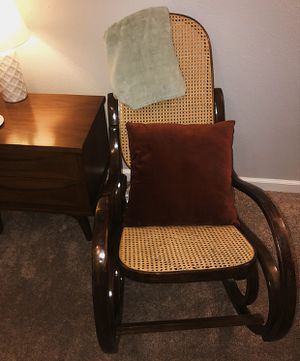 Vintage Bentwood Cane Rocking Chair for Sale in Parker, CO