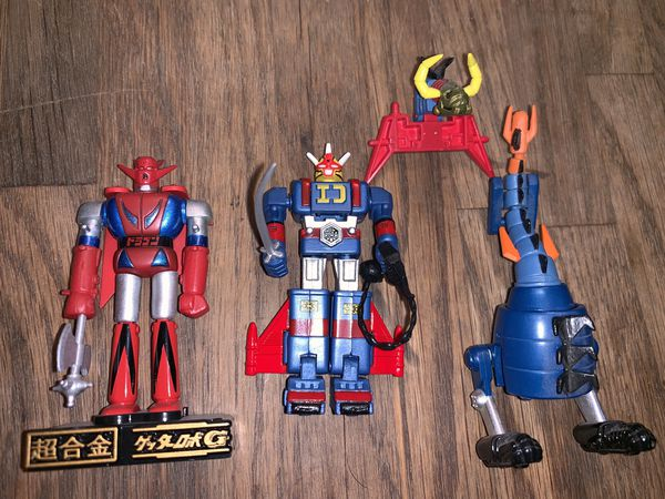 Vintage mazinger Z robot toys collectibles