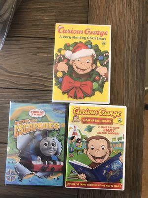 3 kids DVDS for Sale in Nipomo, CA