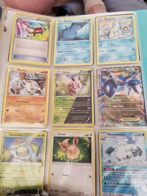 Pokemon cards with binder for Sale in Peoria, IL