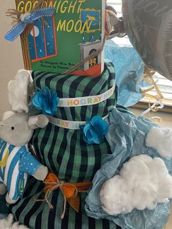 Goodnight Moon Diaper Cake for Sale in Happy Valley,  OR
