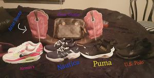 Purse, wallet, boots, and shoes for Sale in Wichita, KS