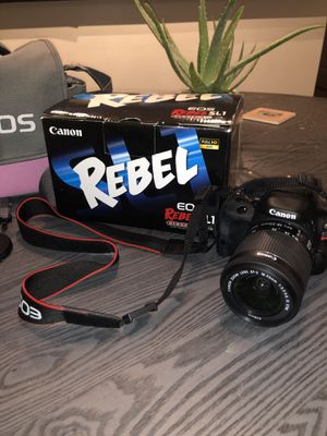 Canon Eos Rebel SL1 camera for Sale in Nashville, TN