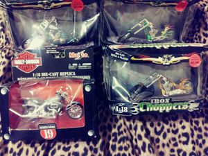 Collectable motorcycles toys for Sale in Dallas, GA