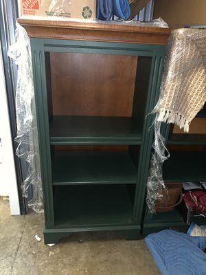 Green Bookshelves - Set of 2 for Sale in Atlanta, GA