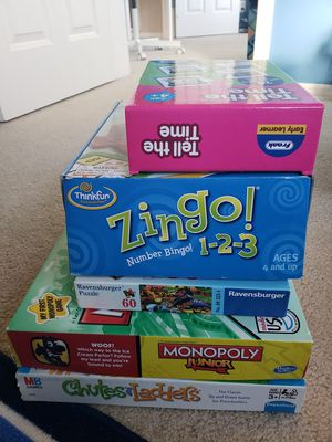 5 Game Set for Sale in Redmond, WA