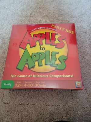 Apples to Apples board game for Sale in Plano, TX