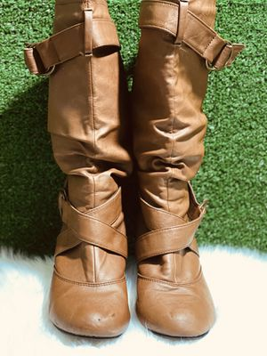 Faux Leather Boots for Sale in Las Vegas, NV