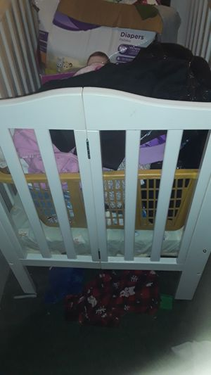 White miniature crib for Sale in White Marsh, MD