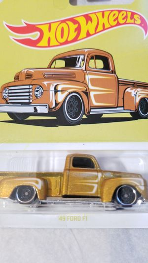 49 Ford F1 hot wheels trucks for Sale for sale  San Antonio, TX