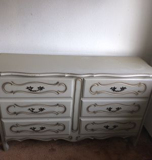 Dressers,desk, night stands- French provincial- vintage for Sale in Federal Way, WA