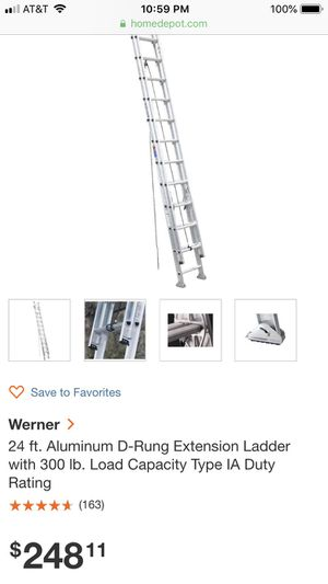 24 ladder for Sale in Pasco, WA