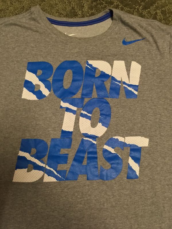 "33210a79 Nike ""Born To Beast"" T-Shirt Dri-Fit for Sale in San Jose, CA - OfferUp"
