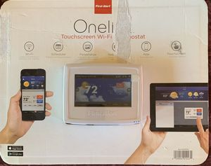 """NEW WiFi Thermostat: First Alert-""""OneLink"""" for Sale in Hayward, CA"""