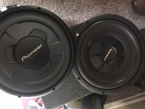 """2 12"""" Woofers for Sale in Houston, TX"""