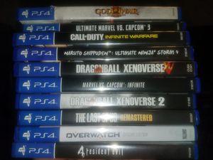 Ps4 games for Sale in Salt Lake City, UT