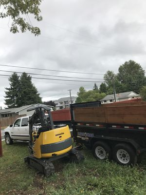 Truck Trailer Excavator for hire for Sale in Federal Way, WA