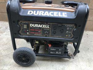 Duracell generator model DG3200 for Sale in Corona, CA