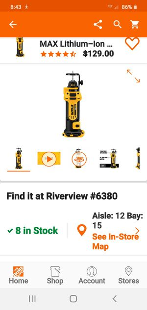 (2) Dewalt 20v Drywall cut out tools (tools only) for Sale in Riverview, FL