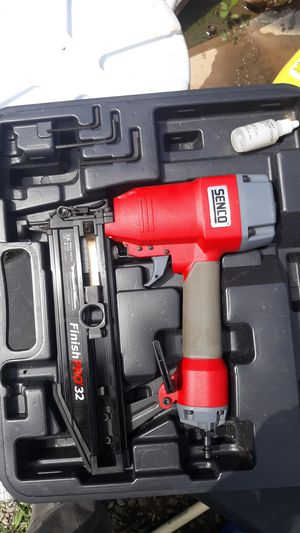 Senco finish pro 32 16 gauge nail gun for Sale in Nashville, TN
