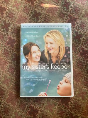 My sisters keeper DVD for Sale in Aliquippa, PA