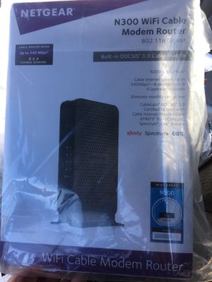 Netgear N300 modem Router for Sale in Columbus, OH