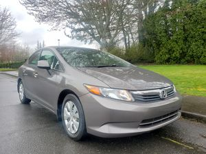 2012 honda civic Lx AUTOMATIC ULEV ENGINE 4CYL very clean LOW MILES sport LOW MILES sport for Sale in Portland, OR
