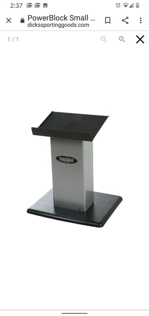 Powerblock small column weight stand for Sale in MD CITY, MD