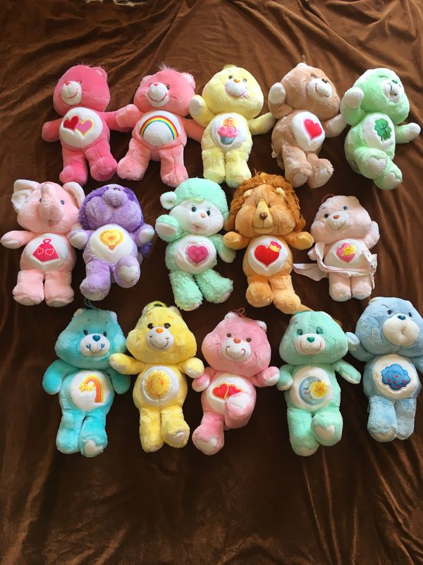 Vintage Care Bear Stuffies